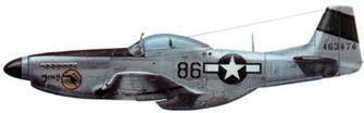 P-51D-20 (44-63474, «86», «Foxy»), 45th FS, 15th FG, 7th AF, Иводзима, апрель 145
