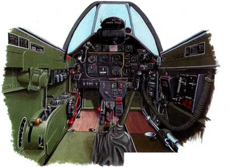 Кабина p-51d-20-na.
