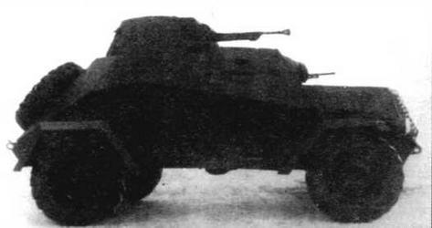 Бронеавтомобиль ЛБ-62. Вид с правого борта