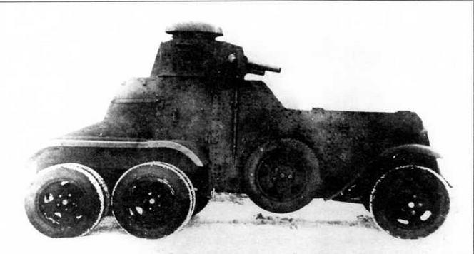 Модернизированный бронеавтомобиль БА-27М