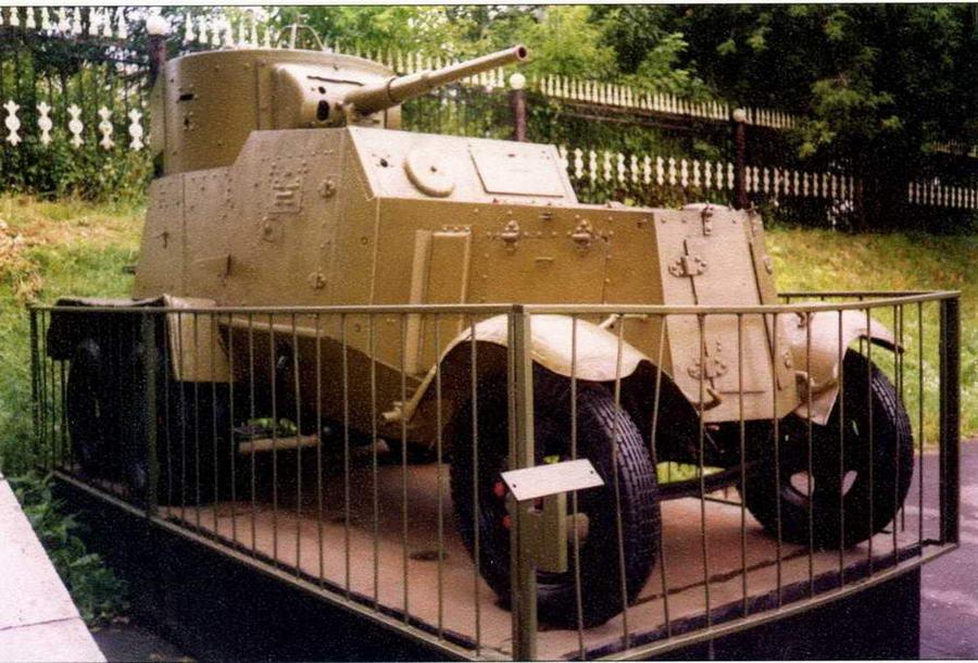 Бронеавтомобиль БА-6 экспонируется ныне в Центральном музее Вооруженных Сил в Москве, куда он был передан из музея в Кубинке. Машина установлена очень удачно — ее можно осмотреть со всех сторон, в том числе сзади и даже сверху