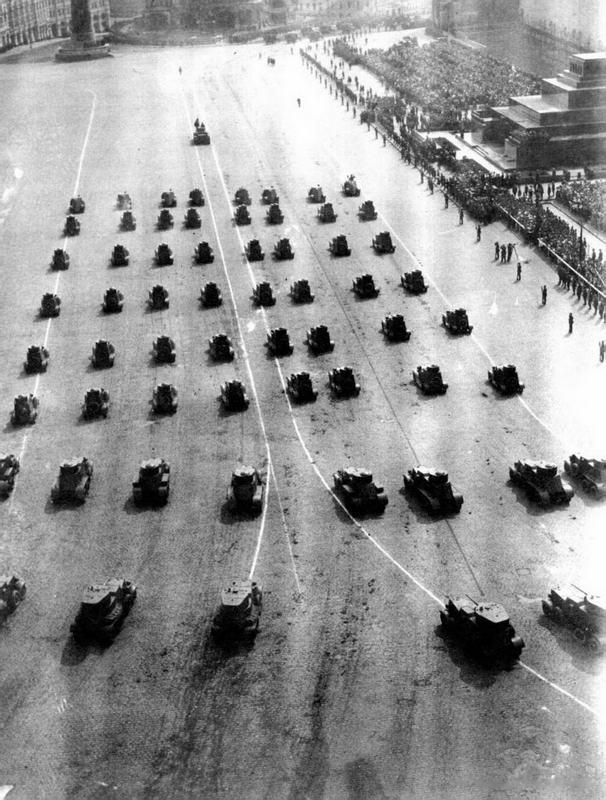 Москва, 1 мая 1934 года