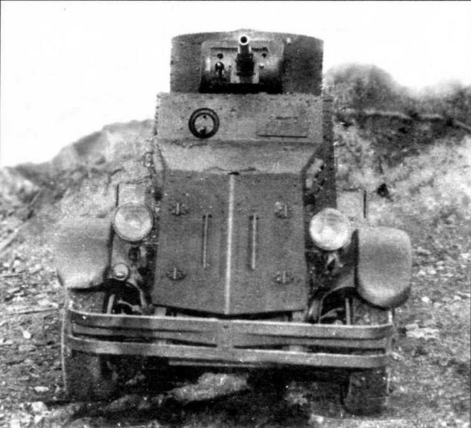 Тяжелый бронеавтомобиль БА-5 был разработан в 1934 году на Московском автомобильном заводе им.Сталина (ЗИС) на базе трехосного неполноприводного (6x4) шасси ЗИС-6, более прочного и надежного, чем ГАЗ-ААА.