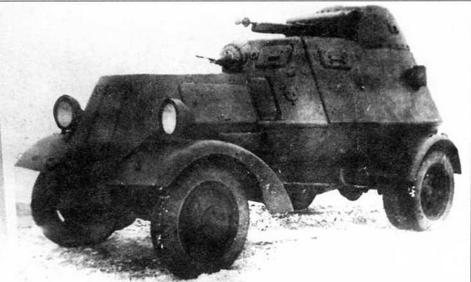 Бронеавтомобиль ЛБ-НАТИ