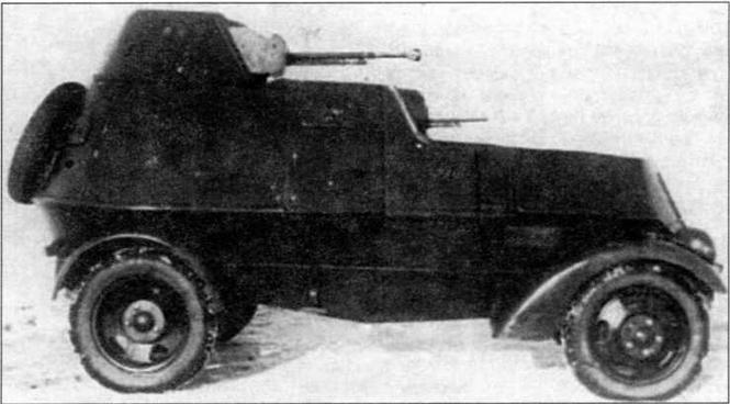 Бронеавтомобиль ЛБ-НАТИ. Вид с правого борта