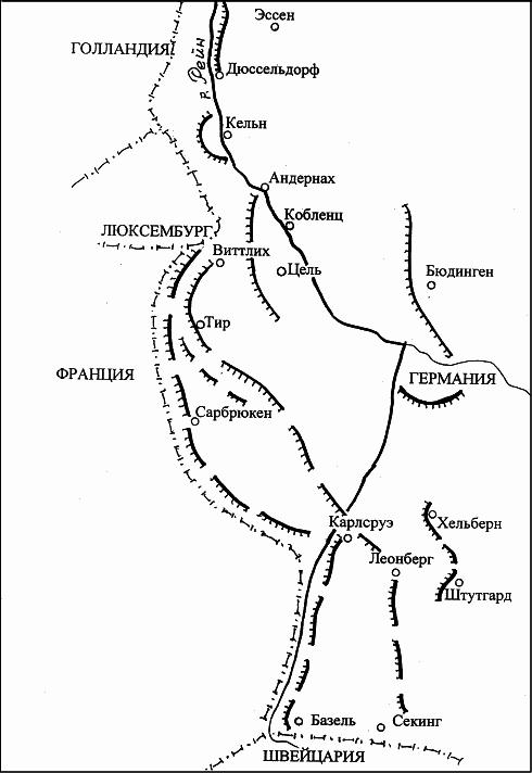 Позиция Бранденбурга и Зигфрида