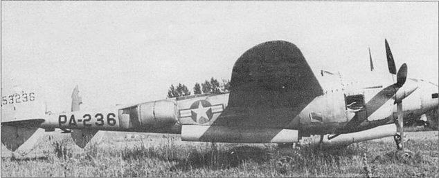 P-3SL, аэродром Висконсин, необычны опознавательные знаки и маркировка образца, введенного в 1947 г. Самолет экспонируется в мемориале, посвященном Ричарду Бонгу.