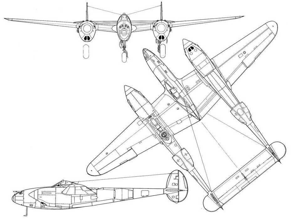 Lockheed P-38E Lightning