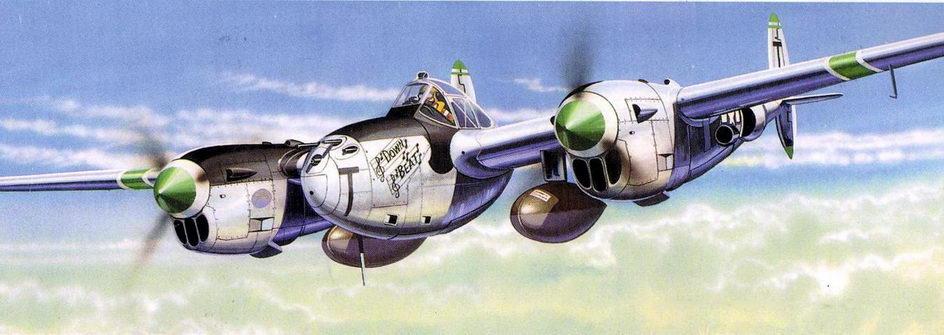 P-38J майора Ричарда Бонга, 8 FG, 1944 г.