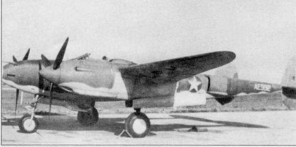 Р-322 из состава USAAF, Чэнат-Филд, октябрь 1942 г. АЕ992 – 14-й построенный Р-322. Самолет несет обычные опознавательные знаки того периода и черную надпись US ARMY на нижней поверхности крыла. Окрашен самолет по схеме RAF.