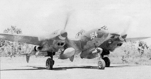 Лейтенант Джордж Принтис летал на этом P-38G в период службы в 432-й эскадрильи 475-й истребительной авиагруппы в 1943 г., когда эскадрилья базировалась в Дободуре на Новой Гвинее. Коки винтов – желтые, номера – белые с желтой обводкой.