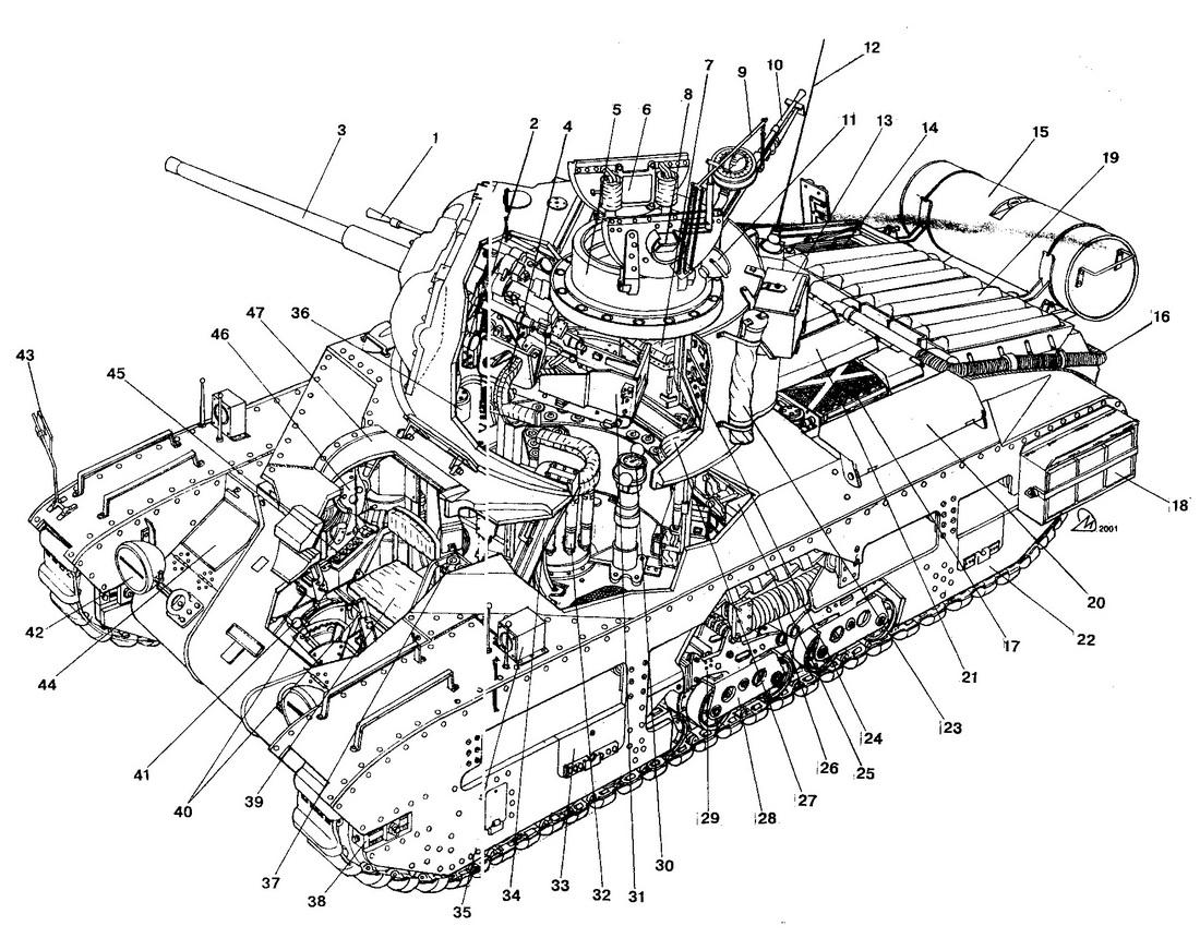 Tank Infantry Mk II Matilda III