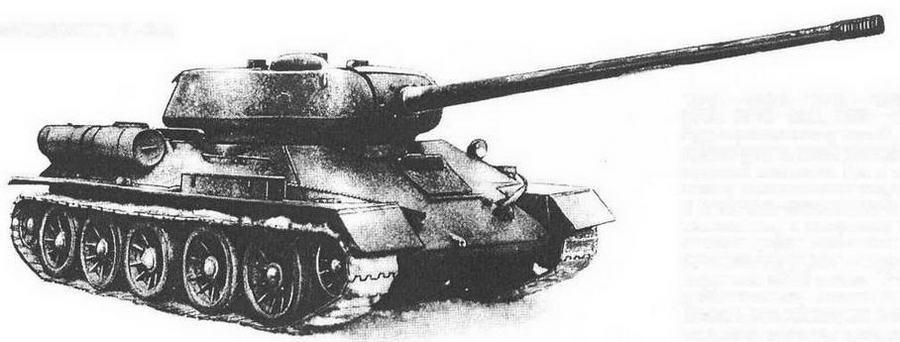 Опытный танк Т-34-100.