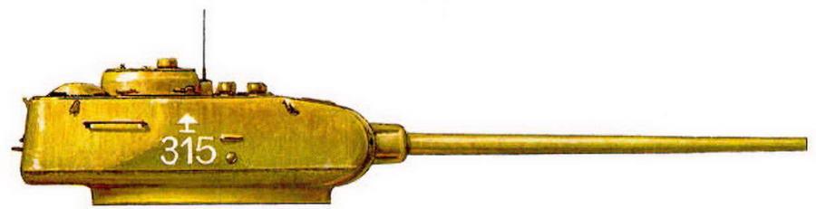 Т-34-85. 41-я гвардейская танковая бригада, 7-й механизированный корпус.Венгрия, февраль 1945 г.