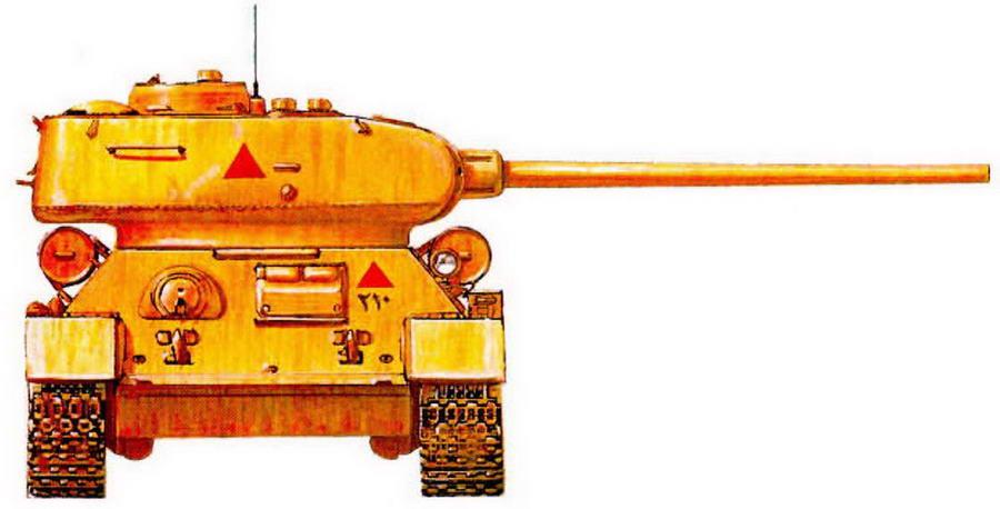 Т-34-85 египетских вооруженных сил. 1956 г.