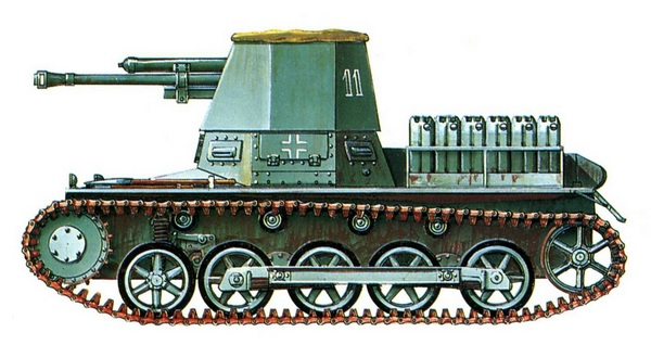 Panzerj?ger I. 605-й противотанковый дивизион (Pz.Jag.Abt.605). Северная Африка, г. Триполи, 1941 год.