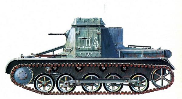 Kl.Pz.Bf.Wg. Штабная машина 1-го батальона 5-й лёгкой дивизии. Триполи, февраль 1941 года.