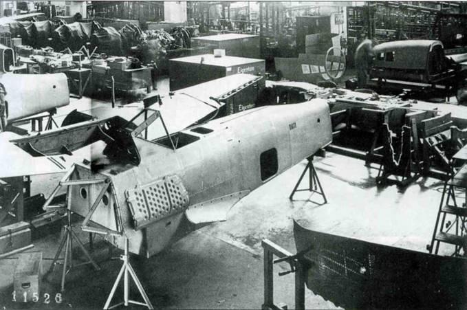 Сборочная линия Fw 190А-0.