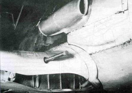 Еще один тип пламегасителя, испытывавшийся на Fw 190.