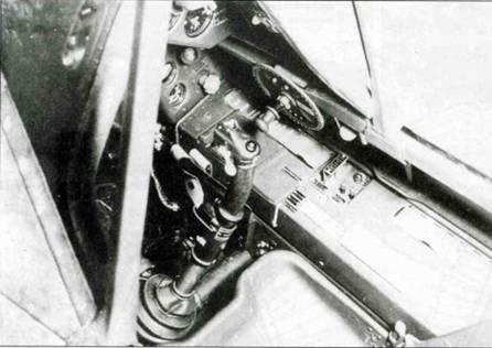 Правая бортовая консоль на Fw 190A-3.