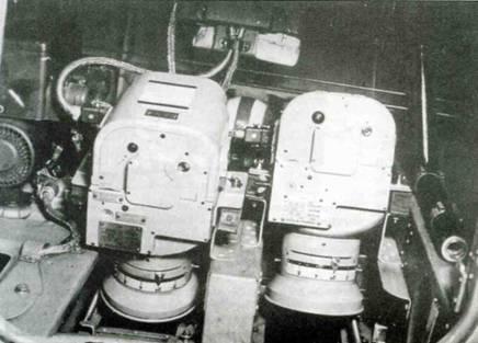Фотокамеры Rh 12,5/7x9, установленные в хвостовой части фюзеляжа.