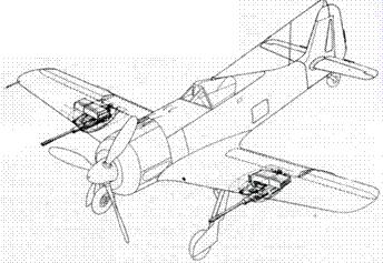 Fw 190A-6/R3, вооруженный двумя 30-мм пушками МК 103.