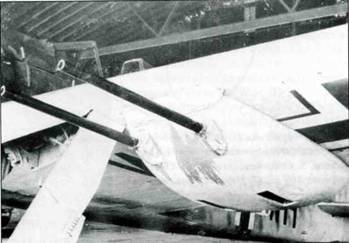 Ruestsatz. 1 для Fw 190A — гондола И В 151/20 с двумя пушкеиш MG 151/20 Е.