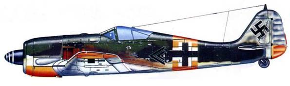 Fw 190A-5, W.Nr. 410004, командира l./JG 54 капитана Вальтера Новотны, Восточный фронт, 1943 год.
