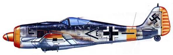 Fw 190F-8, II./SG 4. Восточный фронт, лето 1944 года.