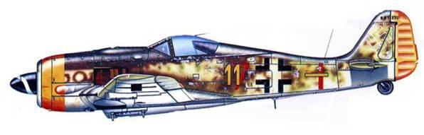 Fw 190F-8/R1, неизвестная часть, Германия, 1945 год.