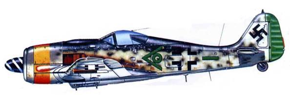 Fw 190F-9/Pb, неизвестная часть, Германия, 1945 год.