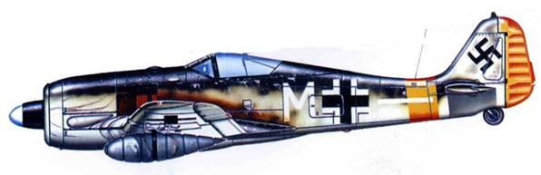 Fw 190G-2, II-я группа неустановленного полка (вероятно SG 10), Восточный фронт, 1943 год.