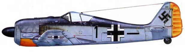 Fw 190A-2, W.Nr. 269, II./JG 26, Франция, 1942 год.