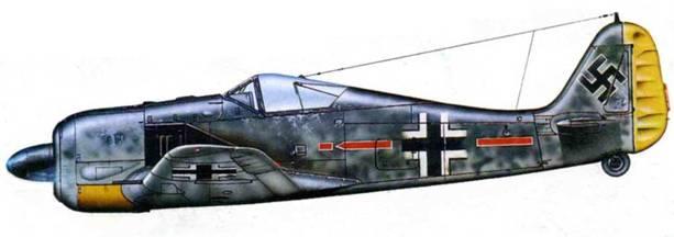 Fw 190А-5, неизвестная часть, Восточный фронт.