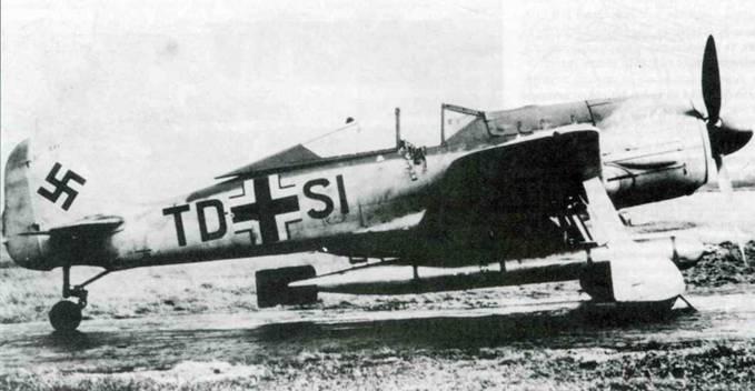 Fw 190F-8/R15 из III./KG 200 после войны оказался в Англии. Самолет оснащен удлиненной стойкой хвостового колеса и бомбодержателем ЕТС 502. Самолеты группы совершали боевые вылеты, вооруженные бомботорпедами ВТ700 или ВТ1400, или обычными авиабомбами.
