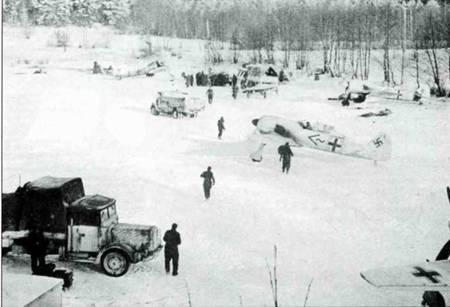 Fw 190А-3, I./JG 51, база Великие Луки, Россия, начало 1943 года.