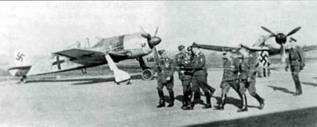 Летом 1941 года первую партию Fw 190.А-1 передали в JG 26.