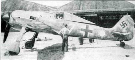 Самолеты Fw 190A в истребительных частях Западный фронт, 1941-44г.г