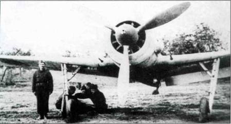 Еще один румынский Fw 190F-8, самолет несет новые опознавательные таки. Обратите внимание на то, что бомбодержатель ЕТС 501 демонтирован.