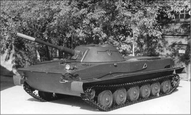 История создания танка ПТ-76