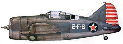 В октябре 1941 года ВМФ США перешел в состояние боевой готовности. Все самолеты получили дополнительный камуфляж — верхнюю сторону самолета покрасили матовой сине-серой краской. Самолеты VF-2 получили этот камуфляж лишь в январе /942 года.