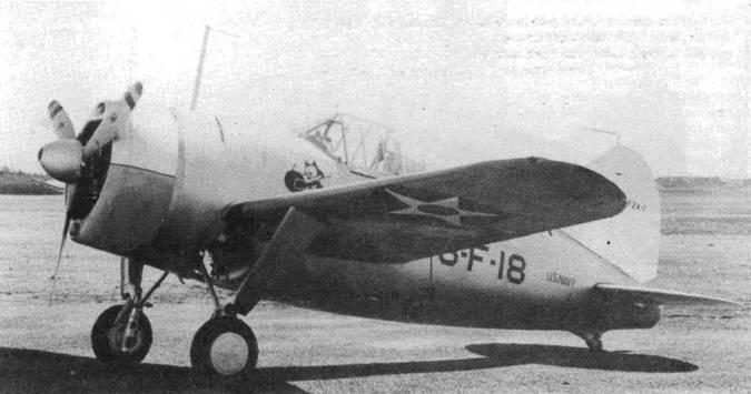 Второй серийный F2А-1 получил новый киль, а также вентиляционное отверстие у хвостового оперения. Самолет доставили в VF-3. Самолет выкрашен серебристой краской, верхняя сторона крыльев желтая (Chrome Yellow). Хвост и верхняя половина капота белые.