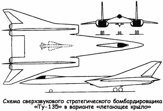 Сверхзвуковые тяжелые самолеты Андрея Туполева