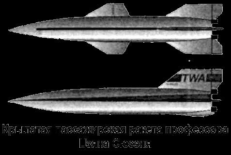 Крылатая пассажирская ракета доктора Цзяна Сюсэня