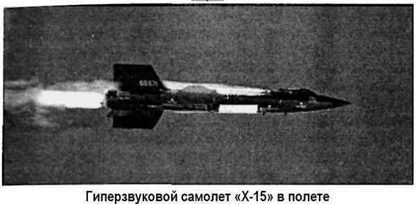 Гиперзвуковой самолет «Х-15»