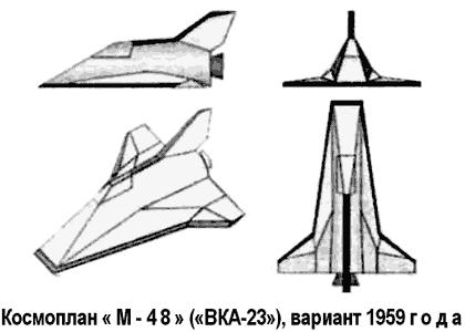 Воздушно-космические аппараты Мясищева