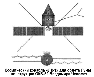 Программа облета Луны «7К-Л1»