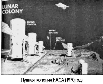 Лунная колония программы «Apollo»