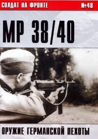 Пистолет-пулемет MP 38/40. Оружие германской пехоты