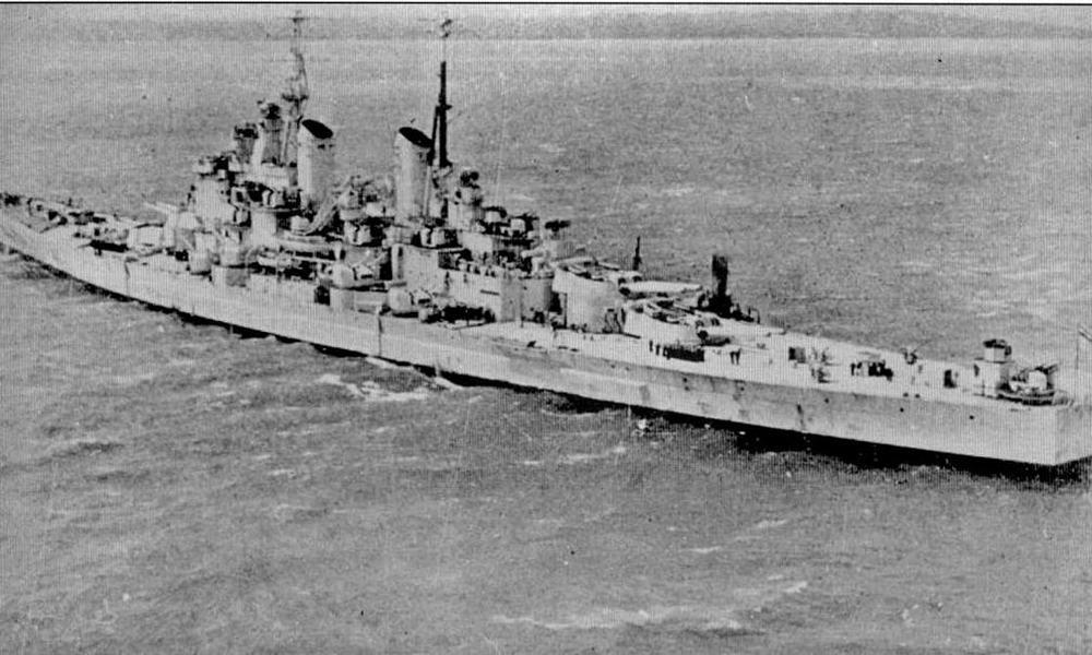 """""""Вэнгард"""" в сентябре 1948 года"""